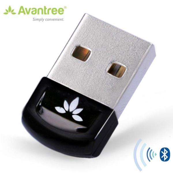 Giá USB Bluetooth AVANTREE DG40S hỗ trợ 6 thiết bị, 2 tai nghe cùng lúc - A1453 (Đen)