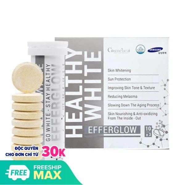 [Lẻ 1 ống] Hàn Quốc Viên Uống Dạng Sủi Trắng Da Healthy White Efferglow Cosmeheal