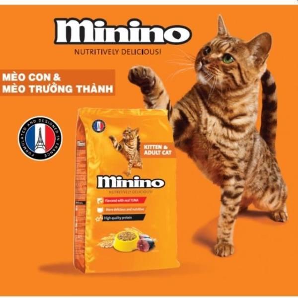 THỨC ĂN CHO MÈO MININO GÓI 480GR