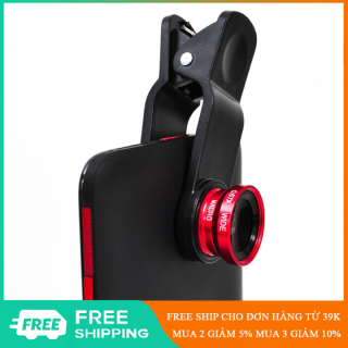 Len ống kính camera điện thoại 3in1 hỗ trợ chụp ảnh chuyên nghiệp - EL0158 thumbnail