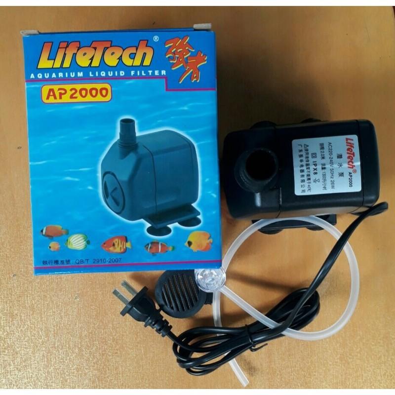Máy bơm nước bể cá cảnh Lifetech AP 2000