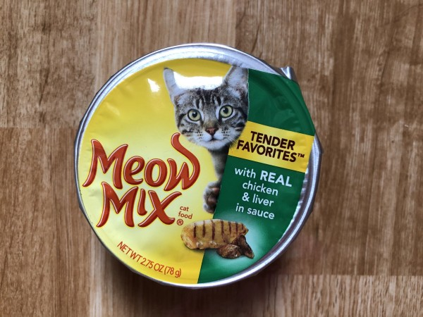 Meow mix Tender Favorites® With Real Chicken & Liver in Sauce