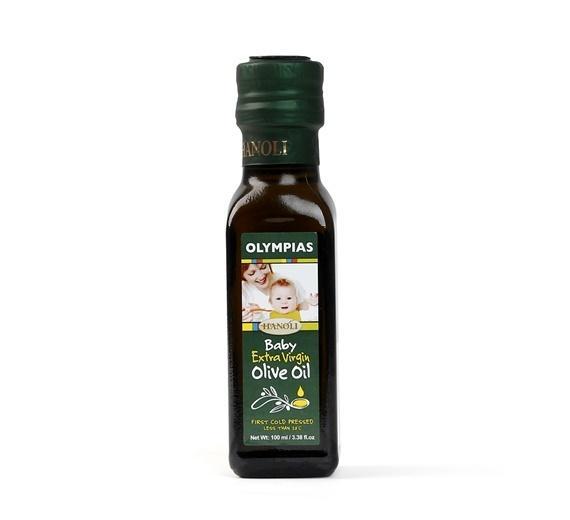 Dầu oliu siêu nguyên chất Olympias dành cho bé 100ml chính hãng