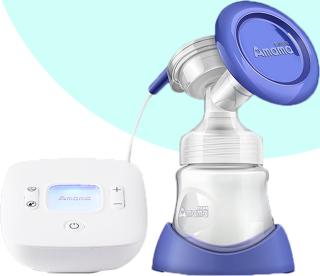 Mua máy hút sữa, Mua máy hút sữa, Máy vắt sữa AMAMA cao cấp, công nghệ mới hiện đại, út nhẹ nhàng êm ái, không đau rát. thumbnail