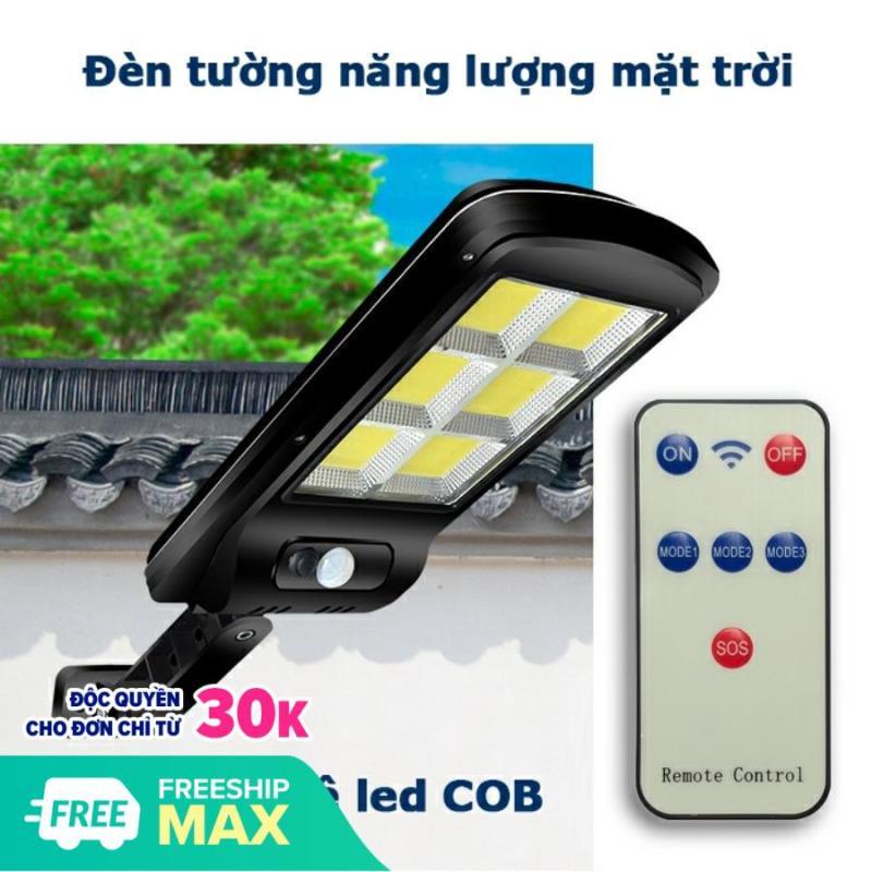 Đèn năng lượng mặt trời 100LED COB có 3 chế độ sáng, Chống Nước