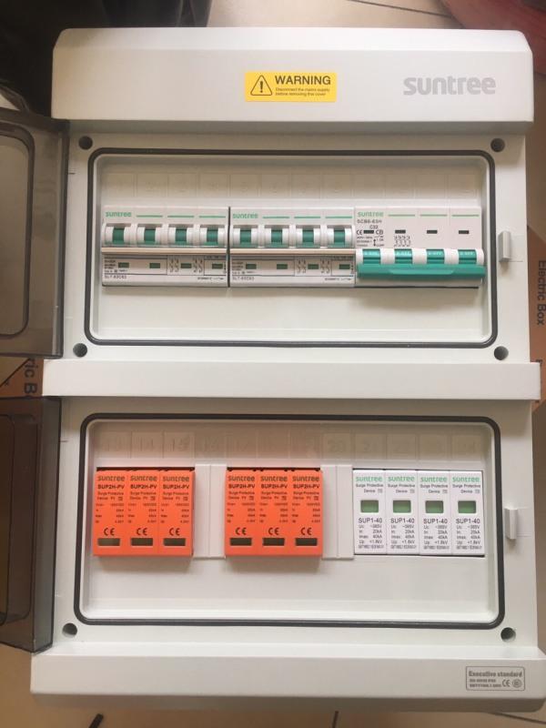 Tủ điện Chống Nước Suntree Ip65 SHA-36P - Tủ Phân Phối Điện 36WAY - 36 CB Đơn - SHA-36P