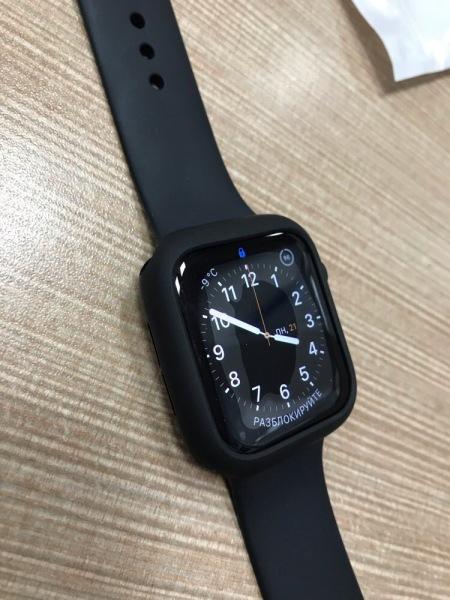Ốp Lưng Dẻo Silicon Cao Su Cho Apple Watch seri 1 2 3 4 5