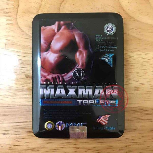 Maxman 3800, Nhập Khẩu Mỹ, 100% thảo dược - Cải thiện sinh lý nam, hỗ trợ sinh lực phái mạnh, chống xuất tinh sớm (maxmen, max men, max man)