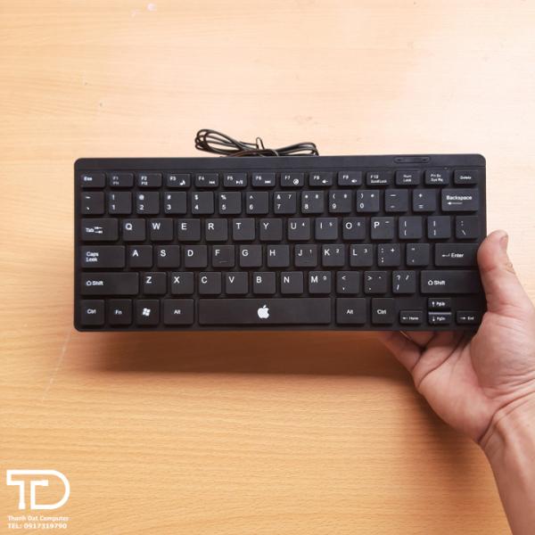 Bảng giá Bàn phím mini nhỏ gọn cho Laptop, Macbook, PC - Mini Keyboard Phong Vũ