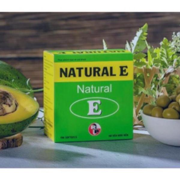 (Chính hãng) Chống oxi hóa giảm lão hóa  làm đẹp da Natural E Robinson Pharma USA hộp 100 viên, sản phẩm chất lượng, đảm bảo an toàn sức khỏe người sử dụng, cam kết hàng giống hình giá rẻ