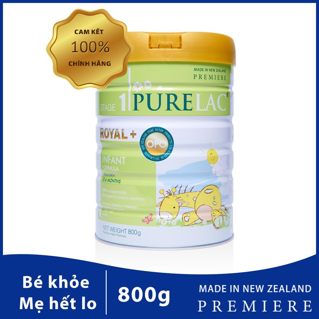 Sữa PureLac nhập khẩu New Zealand cho trẻ 0-6 tháng