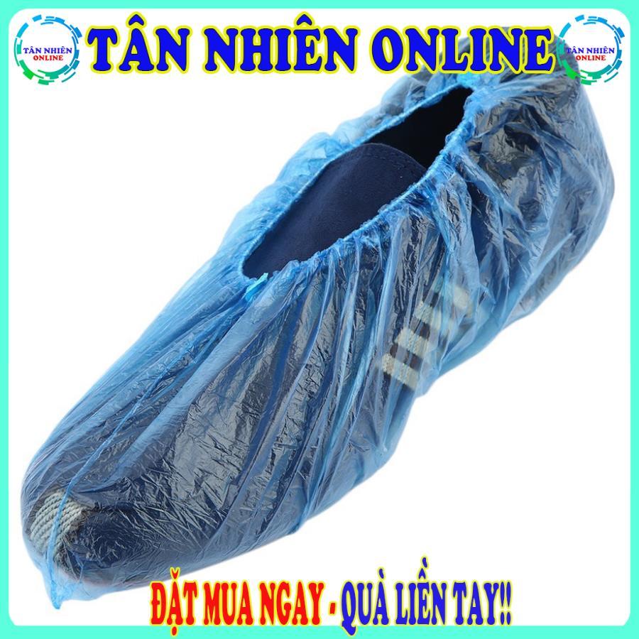 Bọc giày đi mưa loại mỏng tiện lợi sử dụng cho mùa mưa không bị ướt giày