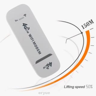 USB wifi 4G LTE Dongle Mifi C09v (trắng) cục phát wifi dcom từ sim 4G đa mạng tốc độ cao tiện dụng cho xe hơi, taxi, du lịch... usb 4g phát wifi giá rẻ thumbnail