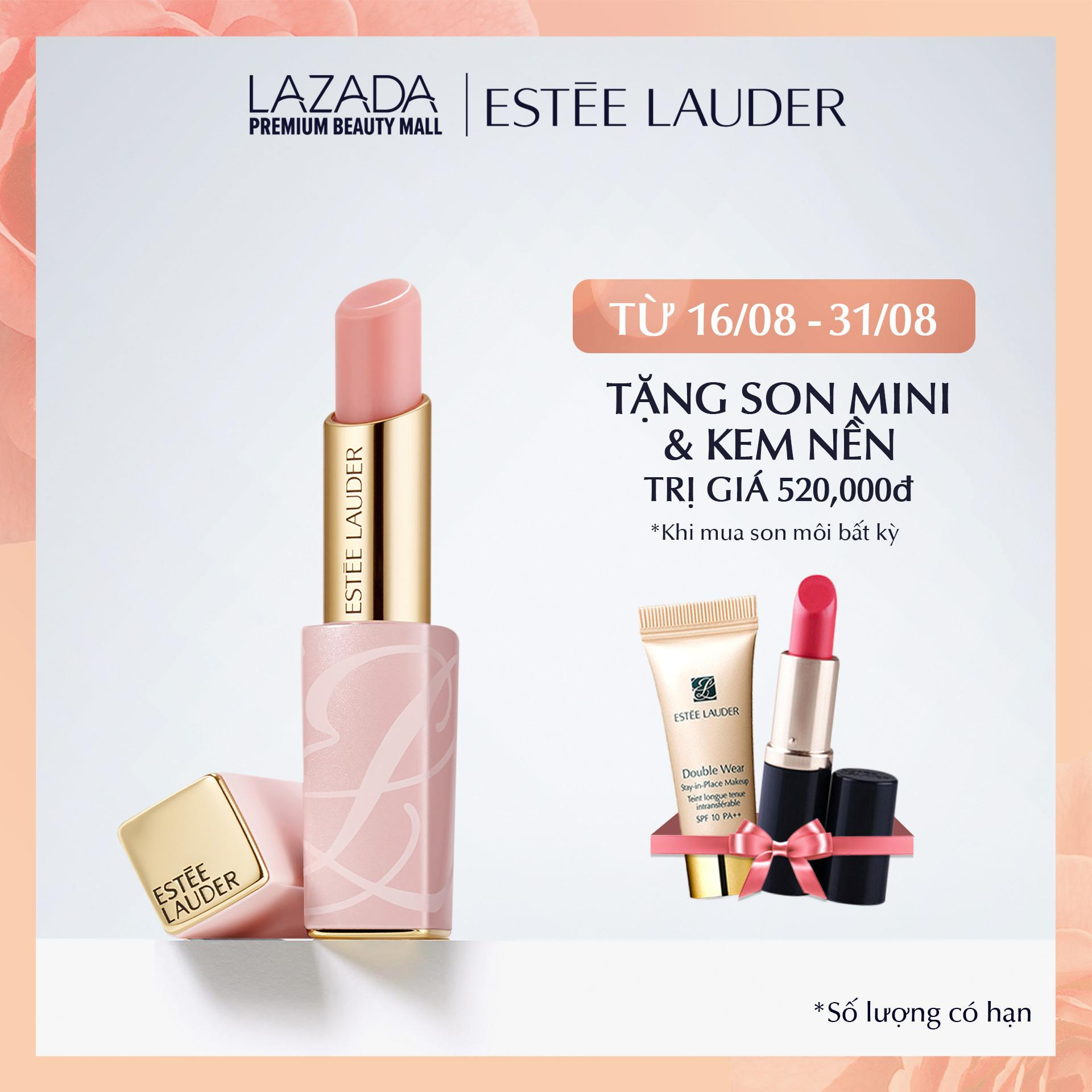 Son dưỡng ẩm môi ửng hồng Estee Lauder Pure Color Envy Color Replenish Lip Balm 3.2g chính hãng