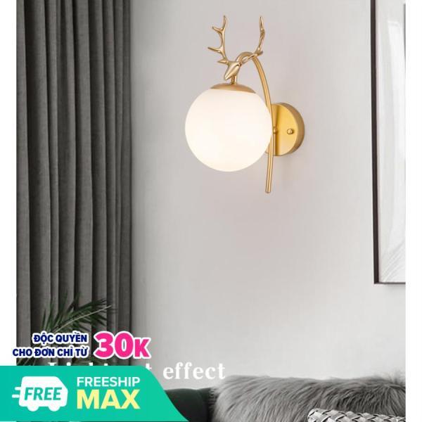 Đèn tường PGT Decor- DGT12 trang trí nội thất sang trọng, tinh tế - kèm bóng LED chuyên dụng.