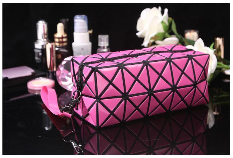 Túi đựng mỹ phẩm xinh xắn cho bạn gái (màu hồng) tốt nhất