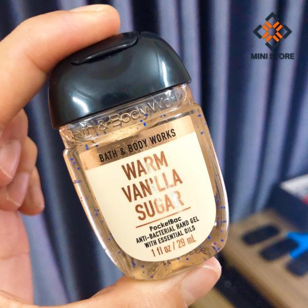 [Z-Mini Store] - Gel Rửa Tay Khô Bath & Body Works PocketBac Sanitizers Warm Vanilla Sugar (29ml)