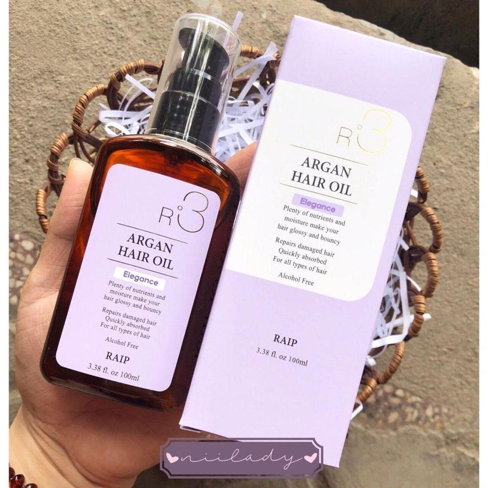 Tinh dầu Dưỡng tóc Argan oil R3 màu tím tốt nhất