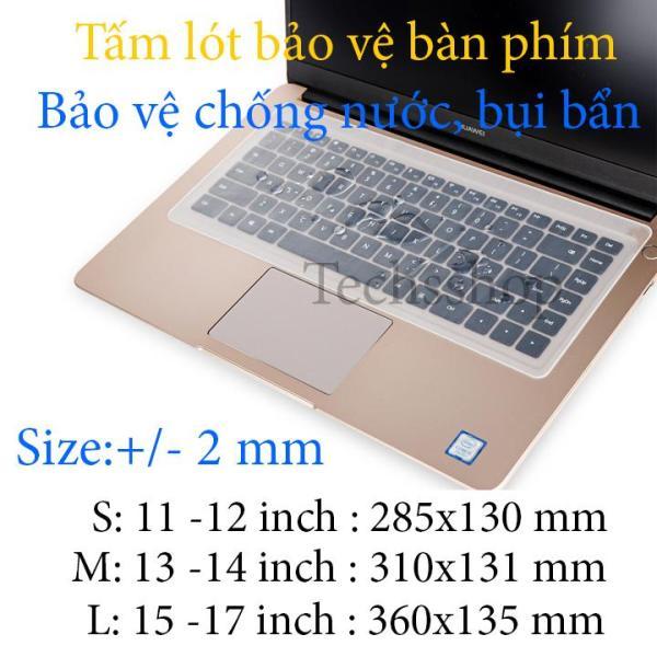 Bảng giá Miếng lót bàn phím cơ bản - Chống bụi bẩn, Chống nước - Trong suốt 11 inch - 12 inch - 13 inch - 14 inch - 15 inch -17 Inch Phong Vũ