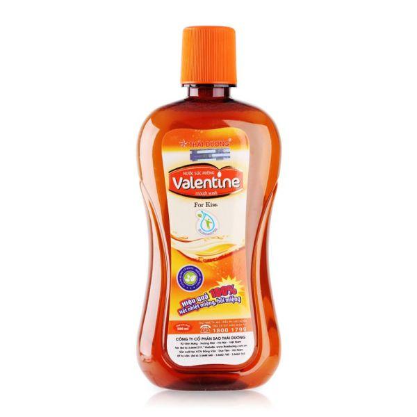 Nước súc miệng VALENTINE - Thái Dương - 500 ml nhập khẩu