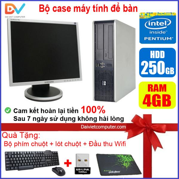 Bảng giá [Trả góp 0%]Bộ case máy tính để bàn HP CPU Dual core E5xxx / DEL Dual core G620 / Ram 4GB / HDD 250GB-500GB / SSD 120GB-240GB + Màn hinh + [QUÀ TẶNG] DEG6 + M - LDV [ Shop Đại Việt Computer - Máy tính Đại Việt ] Phong Vũ