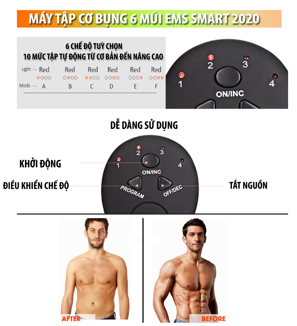 Máy Tập Cơ Bụng tiện ích giúp giảm mỡ bụng, tăng cơ bụng với nhiều chế độ luyện tập khác nhau cho thân hình săn chắc và cân đối