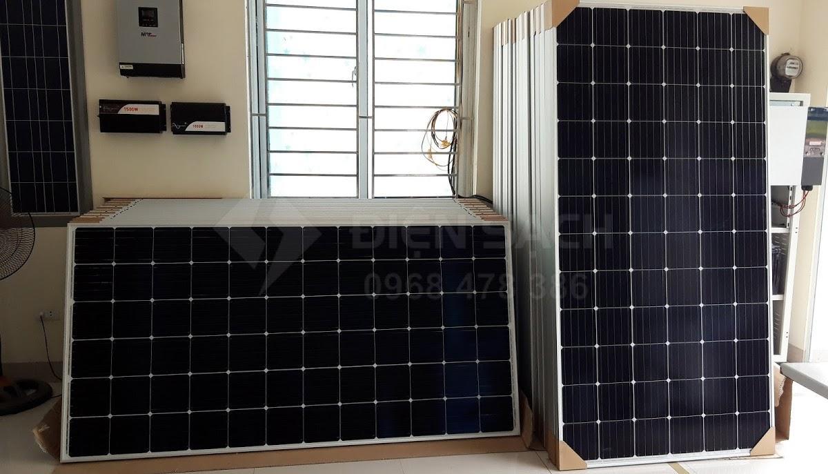 Pin mặt trời mono 370W