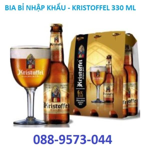 6 CHAI - Bia Bỉ nhập khẩu - Kristoffel 5% Chai 330ml