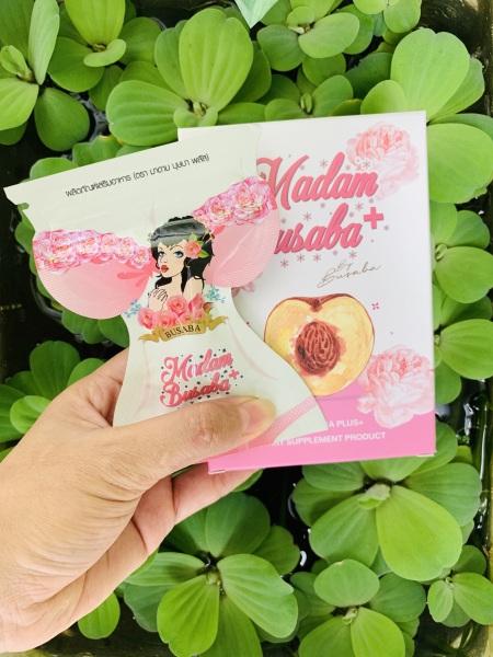 Viên Uống Nở Ngực Madam Busaba Thái Lan Chính Hãng - Tăng Kích Thước Vòng 1 - Viên uống nở ngực Thái - Nở ngực Madam Busaba  (Gói 7 viên)