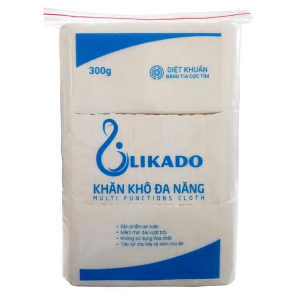 Khăn vải khô đa năng likado 300gr (gói 270 tờ), cam kết hàng đúng mô tả, chất lượng đảm bảo an toàn đến sức khỏe người sử dụng, đa dạng mẫu mã, màu sắc, kích cỡ