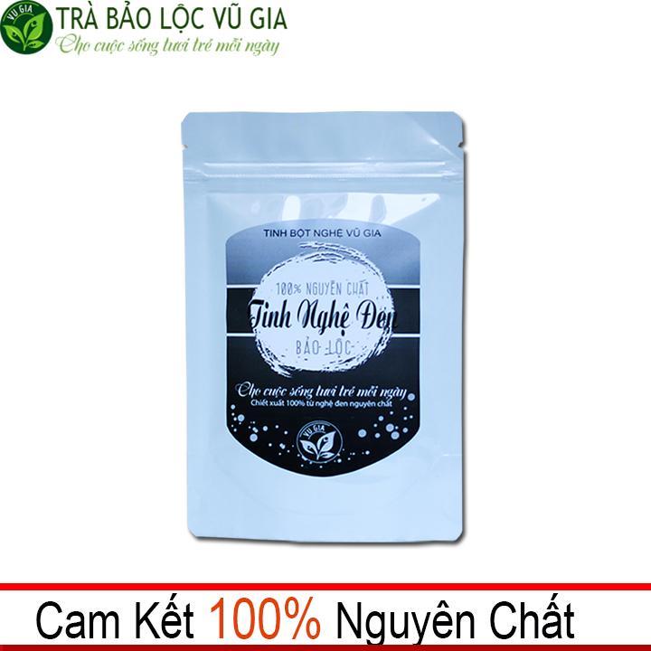 Tinh Nghệ Đen Nguyên Chất Bảo Lộc VG  (100gr/túi) chính hãng