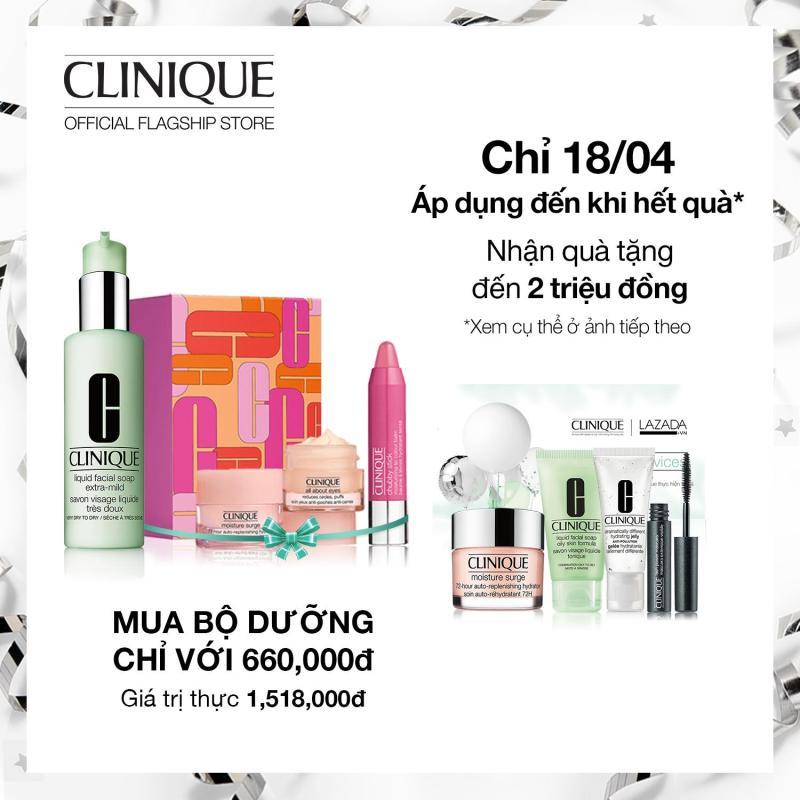 Sữa rửa mặt cho da dầu Clinique Liquid Facial Soap Oily Skin 200ml nhập khẩu