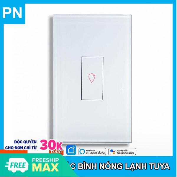 Công Tắc Bình Nóng Lạnh Wifi Tuya Công Suất Cao 20A 4000W - New Design 2020