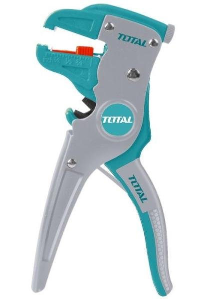 Kìm kiềm tuốt dây điện mỏ quạ 7inch Total THT15606 Ingco HWSP15608