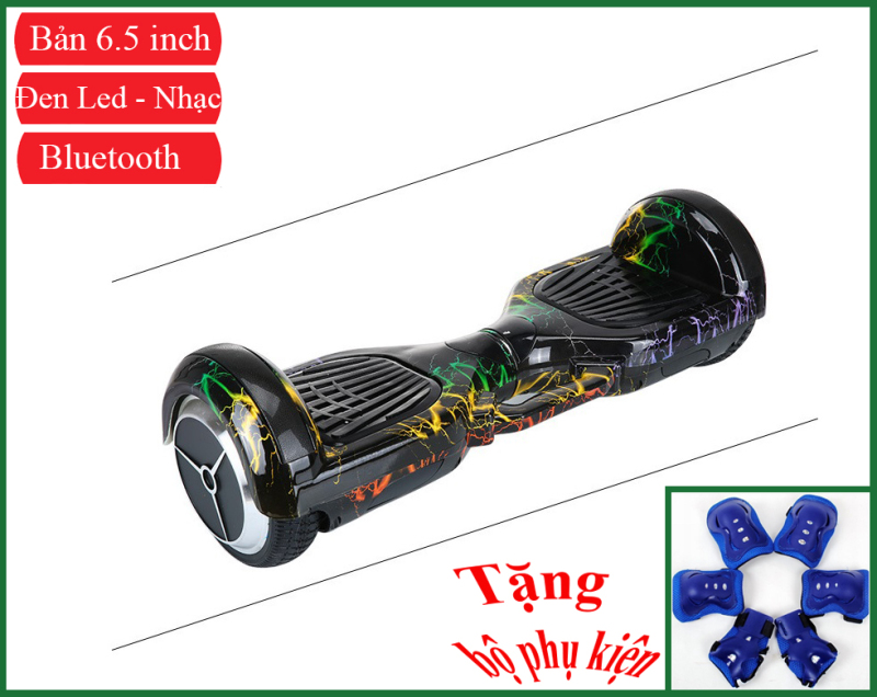 Mua Xe điện tự cân bằng hai bánh Xe cân bằng bánh xe cỡ lớn 6.5inch - Pin khủng 4400mah - Bluetooth