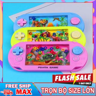 ( FREE SHIP - MUA 1 TẶNG 1 ) Đồ chơi game bắn vòng nước, máy bắn vòng siêu cute, Đồ chơi giúp bé phát triển trí tuệ và thông minh thumbnail