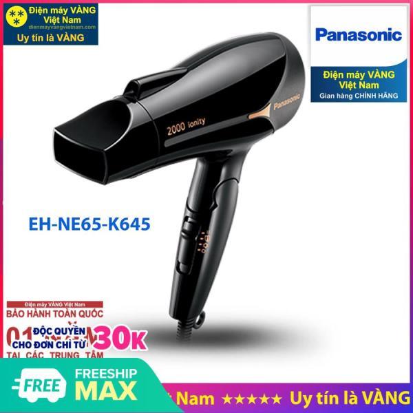 Máy sấy tóc ion Panasonic EH-NE65-K645 hãng phân phối chính thức giá rẻ