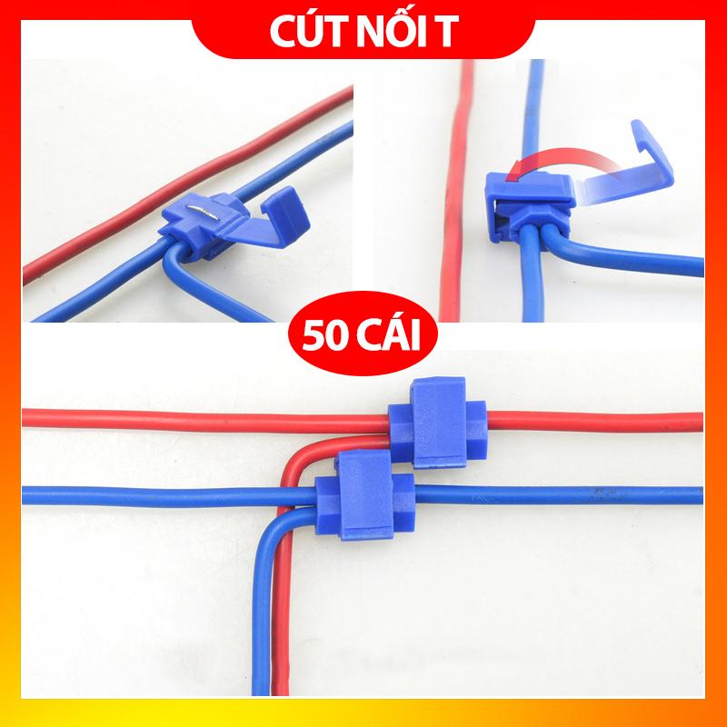 Bảng giá 50 cút nối dây điện nhanh chữ T phân nhánh