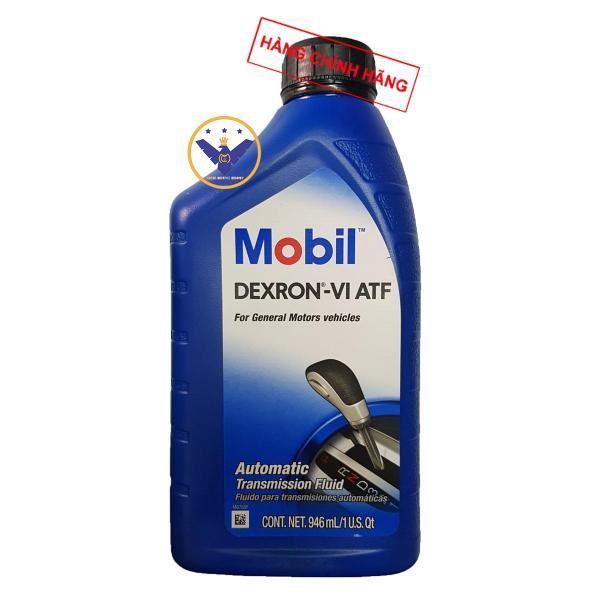 Dầu hộp số tự động xe ô tô cao cấp Mobil Dexron VI ATF 946ml USA