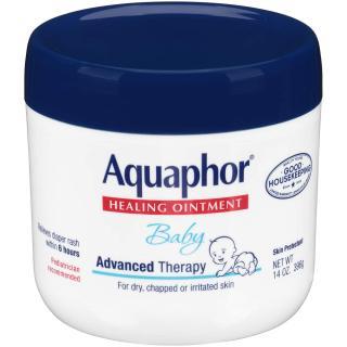Kem chống hăm, dưỡng ẩm, khô da, nứt nẻ cho bé Aquaphor Baby Healing Ointment Advanced Therapy Skin Protectant 396g thumbnail
