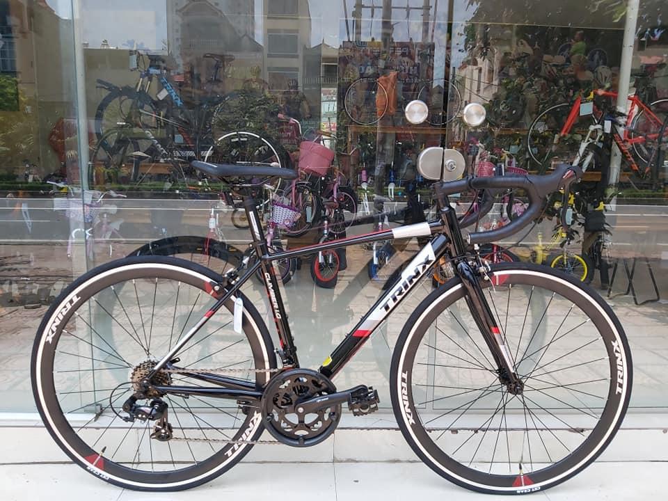 Mua Xe đạp đua TrinX Climber 1.0 2019 Black Red