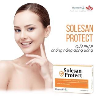 Thực phẩm bảo vệ sức khỏe Solesan Protect (Giải pháp dạng uống sáng da, chống nắng, chống ánh sáng xanh SOLESAN PROTECT) thumbnail