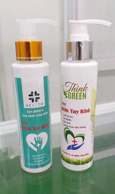 Gel Rửa Tay Khô Think Green Sạch Tay , Kháng Khuẩn 200ml nhập khẩu