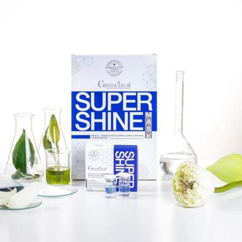 Mặt nạ tế bào gốc căng bóng Cosmeheal Supershine Mask nhập khẩu