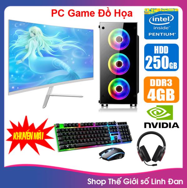 Bảng giá Bộ case máy tính Game LED CPU Dual Core E7/8xxx / Pentium G2010 / Ram 4GB-8GB / HDD 250GB - SSD 120GB / VGA 1 - 2GB chơi PUBG mobile, PUBG lite, LOL, CF đột kích, Fifa3, Cs Go, AOE ... + Màn hình + [QÙA TẶNG: Bộ phím chuột game + tai nghe] - LLD Phong Vũ
