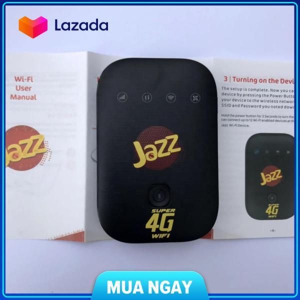 Bảng giá Bộ Phát Wifi 4G Jazz MF673 - Cục Phát Wifi Di Động Jazz Super 4G phát 12 máy kết nối Phong Vũ