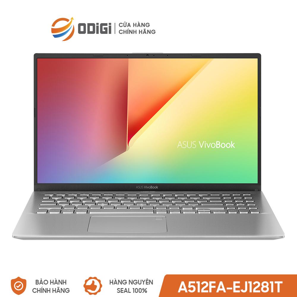 Laptop ASUS VivoBook A512FA-EJ1281T (i5-10210U) 15inch BẠC