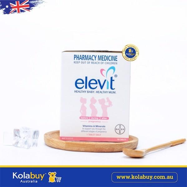 Viên uống cho bà bầu Elevit Pregnancy Multivitamin 100 viên