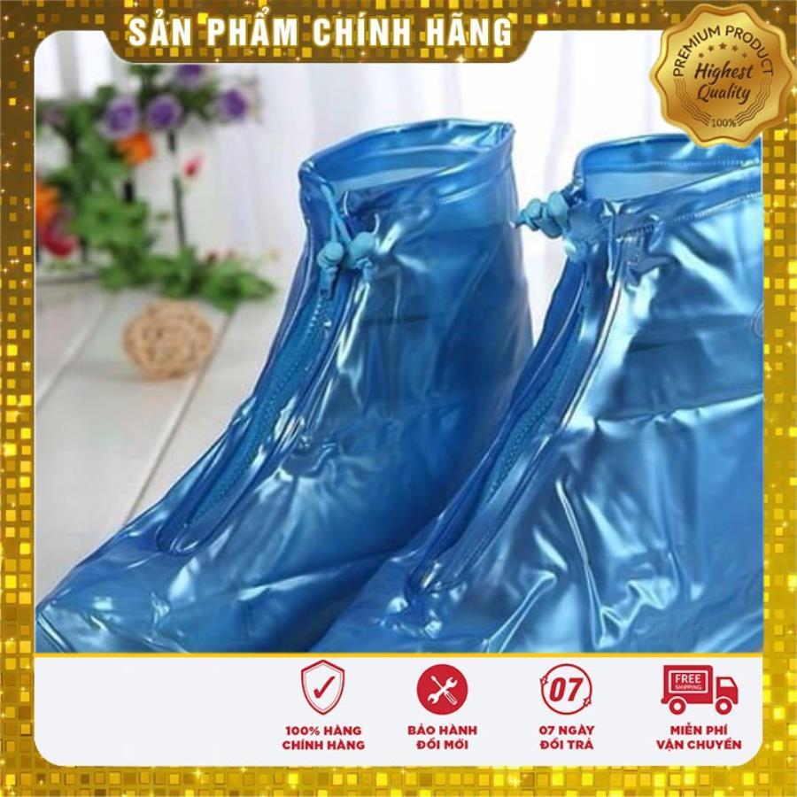Bọc giày đi mưa cao cấp có đế loại xịn, chống nước tốt
