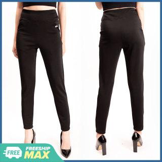 Quần Legging Nữ Bosimaz MS111, quần nâng mông, quần thun ôm nữ cao cấp dài màu đen, hai túi trước, lưng thun dày cạp cao, thun co giãn 4 chiều, vải đẹp mềm mịn, thoáng mát không xù lông. thumbnail